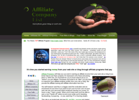 affiliatecompanylist.com
