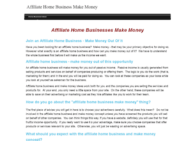 affiliatehomebusinessmakemoney.com