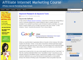 affiliateinternetmarketingcourse.com