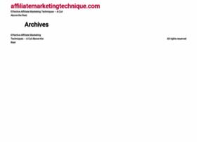 affiliatemarketingtechnique.com