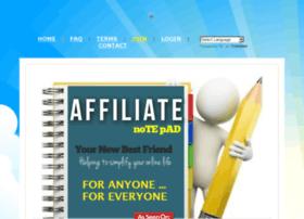 affiliatenotepad.com