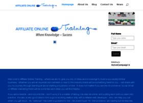 affiliateonlinetraining.com