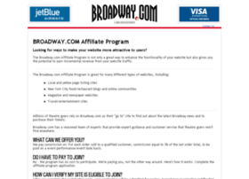 affiliates.broadway.com