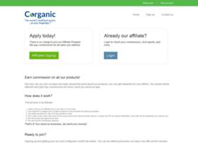 affiliates.corganic.com