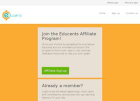 affiliates.educents.com