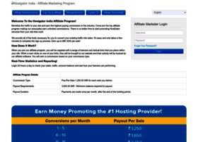 affiliates.hostgator.in