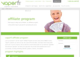 affiliates.vaporzone.com