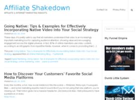affiliateshakedown.com