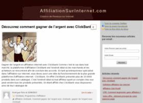 affiliationsurinternet.com