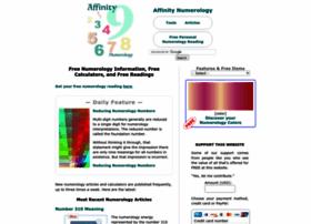 affinitynumerology.com