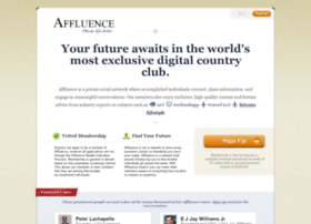 affluence.org