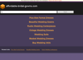 affordable-bridal-gowns.com