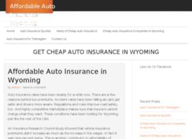 affordableautoinsurancewyoming.com