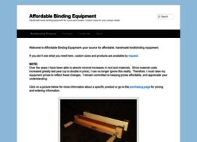 affordablebindingequipment.com