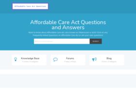 affordablecareactquestions.com
