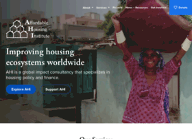 affordablehousinginstitute.org