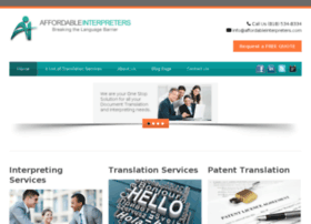 affordableinterpreters.com