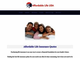 Affordablelifeusa.com