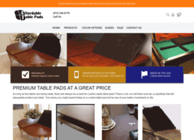 affordabletablepads.com
