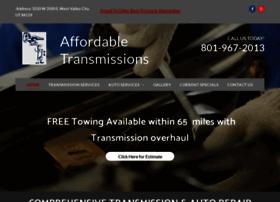 affordabletransmissions-utah.com