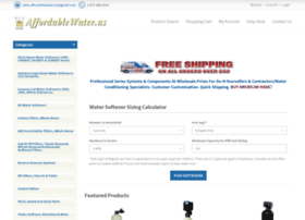 Water Softener System Price Websites And Posts