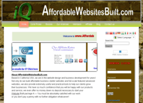 Affordablewebsitesbuilt.com