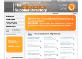afghanistan.buildingmarkets.org