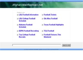 afghanistanfootball.net