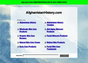 afghanistanhistory.com