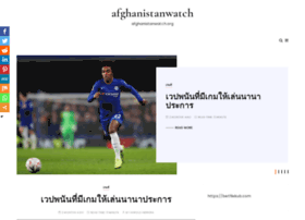 afghanistanwatch.org