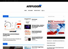 afiffuddin.com