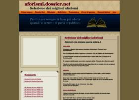 aforismi.dossier.net