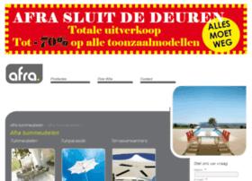 afra-tuinmeubelen.nl