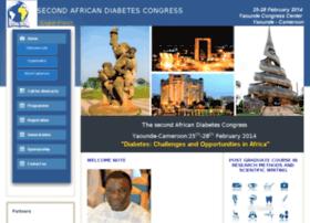 africadiabetescongress.org