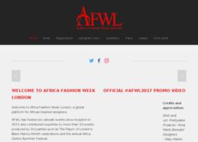 africafashionweeklondon.com