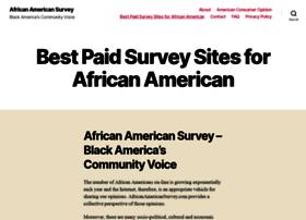 africanamericansurvey.com