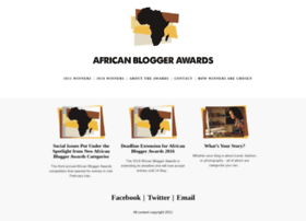 africanbloggerawards.com
