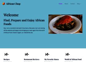 africanchop.com