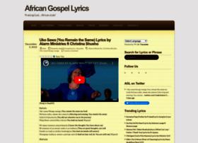 africangospellyrics.wordpress.com