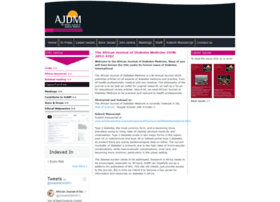 africanjournalofdiabetesmedicine.com