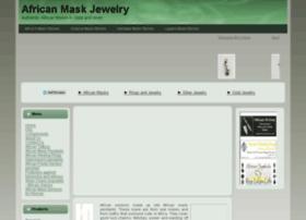africanmaskjewelry.com