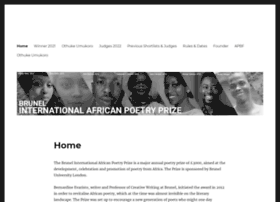 africanpoetryprize.org