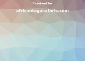 africantagasafaris.com