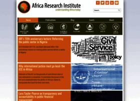 africaresearchinstitute.org