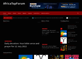 africatopforum.com