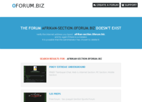 afrikan-section.0forum.biz