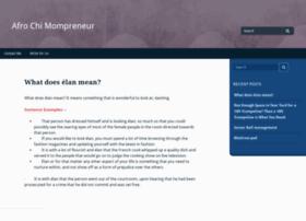 afrochimompreneur.com