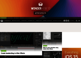 after-effects.wonderhowto.com