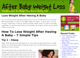 afterbabyweightloss.com