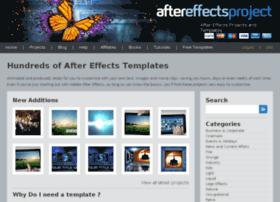 aftereffectsproject.com